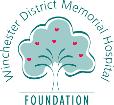 logo for the Winchester District Memorial Hospital Foundation